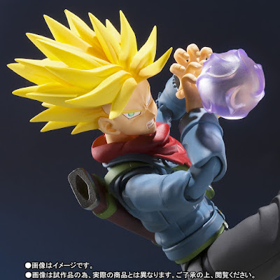 "S.H. Figuarts Future Trunks de ""Dragon Ball Super"" - Tamashii Nations"