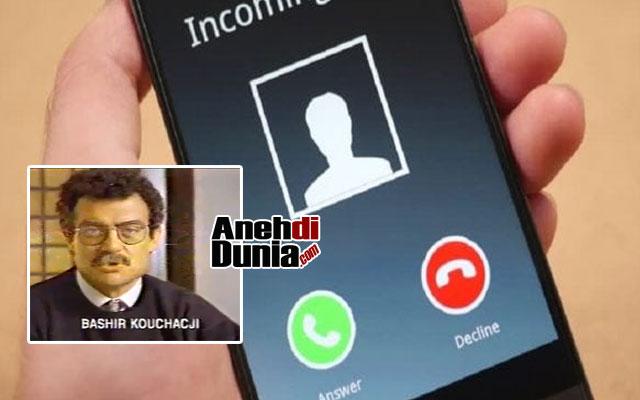 Bashir Kouchacji Ditelepon orang asing selama 9 tahun