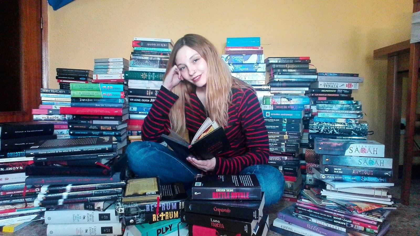 Foto de imagen de Esther G. Recuero en la reseña de su novela: Talbot