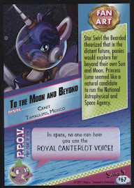 MLP To the Moon and Beyond Series 4 Trading Card