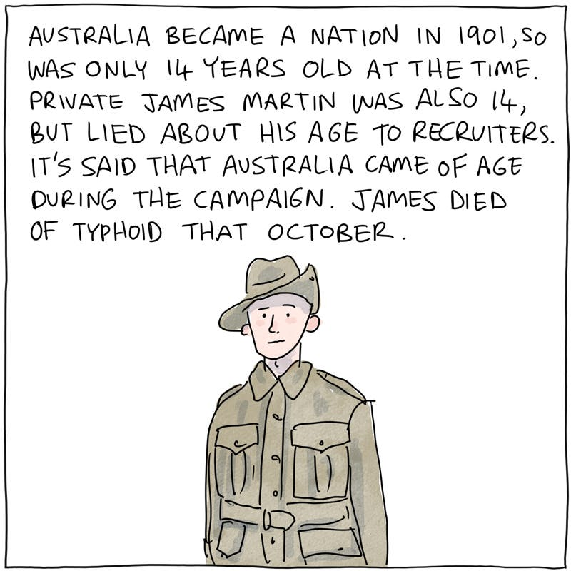 Anzac Day: Australia's Uneasy Commemoration of War, by Jon Kudelka.