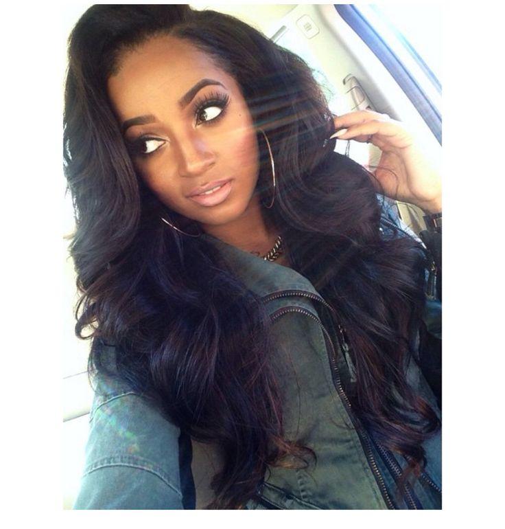 Phenomenal 8 Simple But Beautiful Weave Hairstyles For Black Women Hairstylo Hairstyles For Men Maxibearus