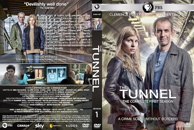 The Tunnel Season 1 DVD Cover