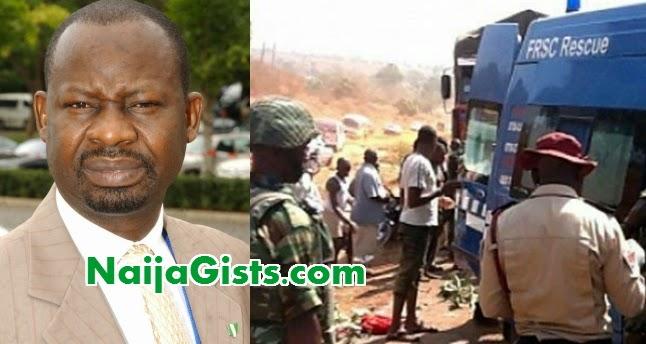 gombe governor convoy accident