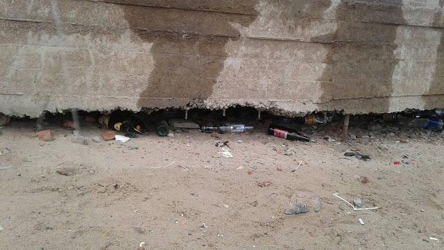 Мусор на пляже АЦКК