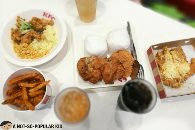 KFC Feast of Flavors - Chizza, Chicken and More!