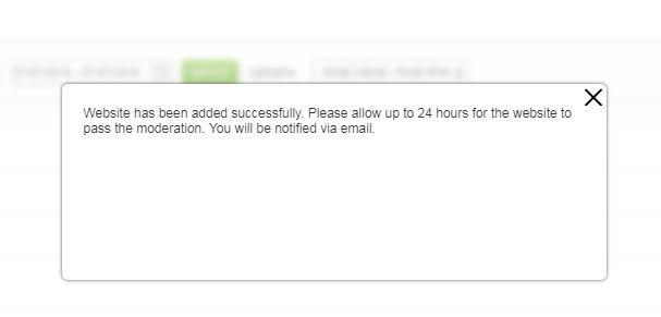 Mgid asegura revisar tu sitio en 24h pero puede tardar mas
