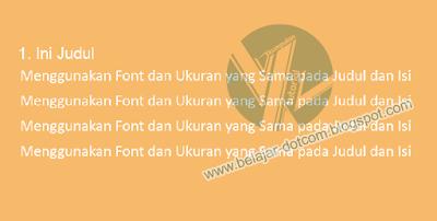 5 Kesalahan yang Harus Dihindari Saat Menggunakan Font atau Tipografi dalam Desain