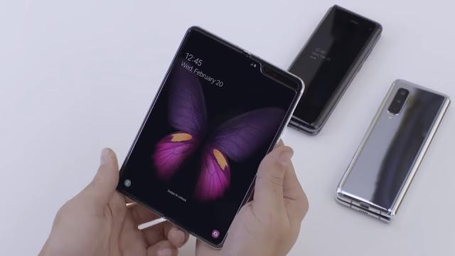 Perbedaan Samsung Galaxy S10 dan Galaxy Fold
