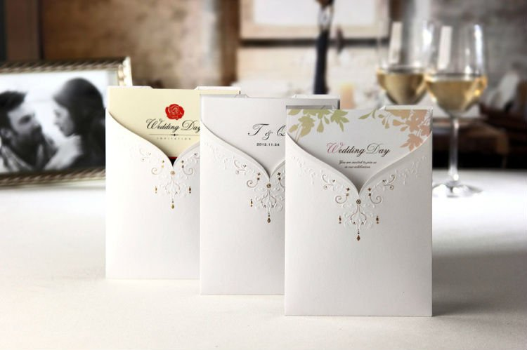kad kahwin, bride and groom, western, wedding card, printing, kuala ...