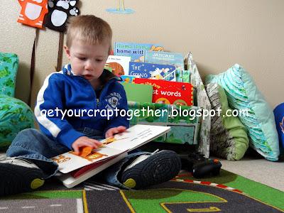DIY Children's Bookcase by GYCT