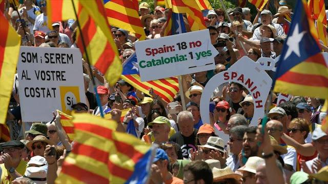 Cataluña declara pronto independencia si gana el SÍ en referendo