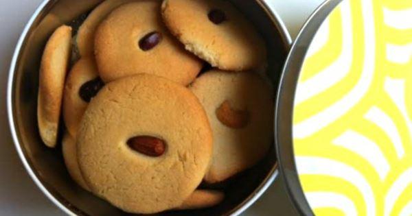 Αφράτα σπιτικά μπισκότα βουτύρου με 3 υλικά