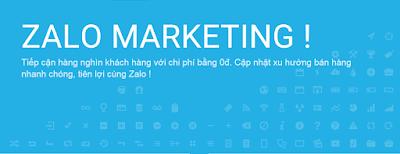 Zalo Marketing giúp tìm kiếm khách hàng Việt Nam