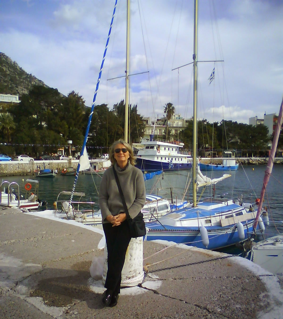 Loutraki harbour