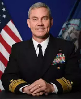 US Vice Admiral Scott Stearney was found dead in his residence in Bahrain on Saturday.