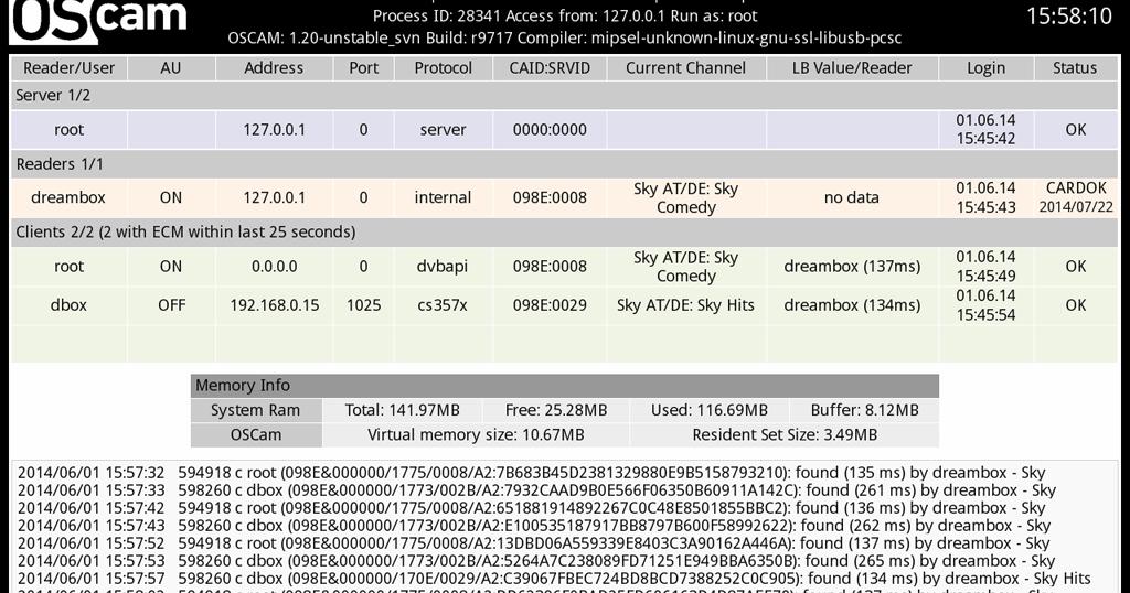 OScam configuration Guide: How to add a Reader - mysatbox tv