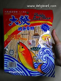 snack ikan dahfa
