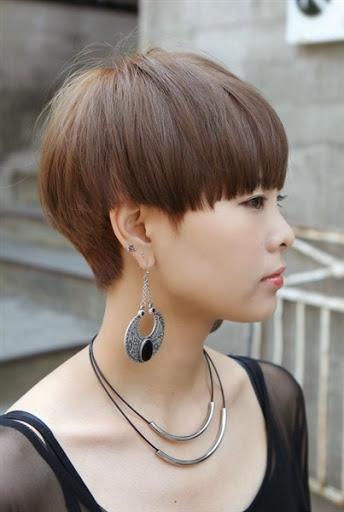 Contoh Rambut Pendek Wanita Terbaru Untuk Perempuan ...