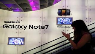 Un Samsung Galaxy Note 7 explota dentro de un avión en EE.UU.