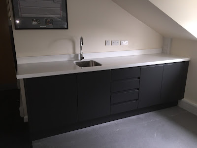 Moda Anthracite with Hanex worktops