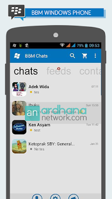 BBM Windows Phone Standart