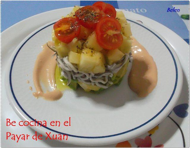 Ensalada De Piña Y Aguacate