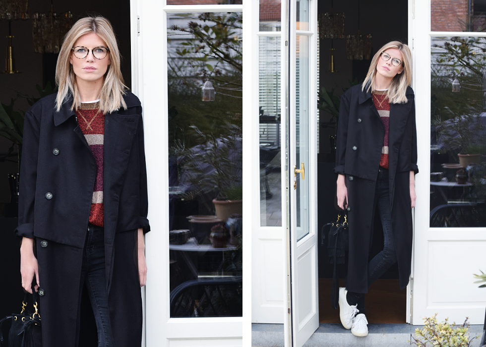 Outfit of the day, Marc by Marc Jacobs, Saint Laurent, Jbrand, HM, Dewolf, Céline, ootd, outfit,