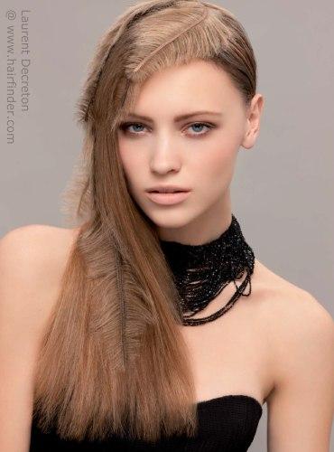 insprate con las siguientes imgenes de cabello largo lacio la moda del