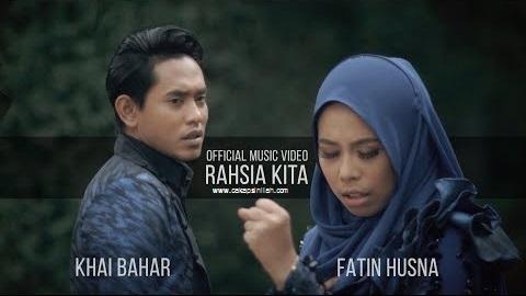 Lirik Lagu: Rahsia Kita - Khai Bahar,Fatin Husna