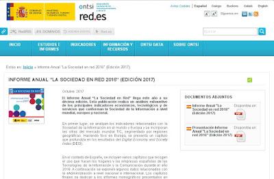 ONTSI - Informe anual la sociedad en RED