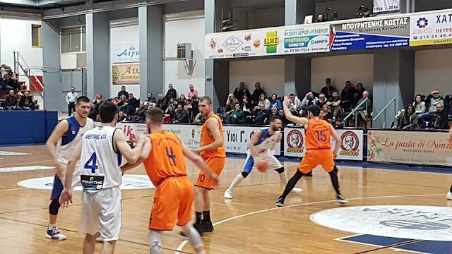 Μεγάλη νίκη του Οίακα Ναυπλίου επί του Πανελευσινιακού με 85 - 74
