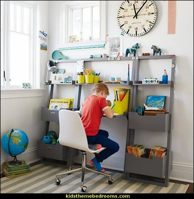 boys bedrooms study
