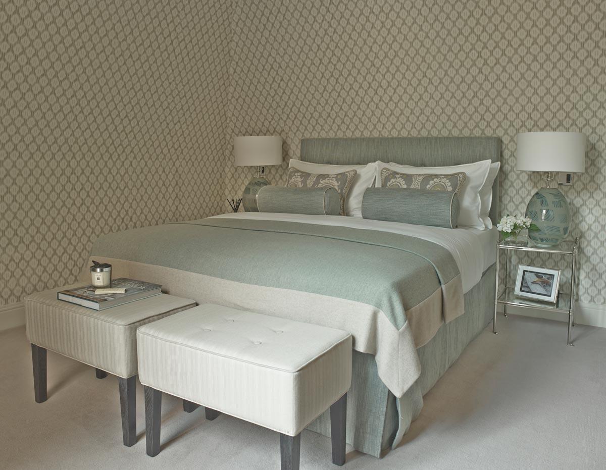 Muebles de dormitorio cabeceros tapizados para for Cabeceros tapizados fotos