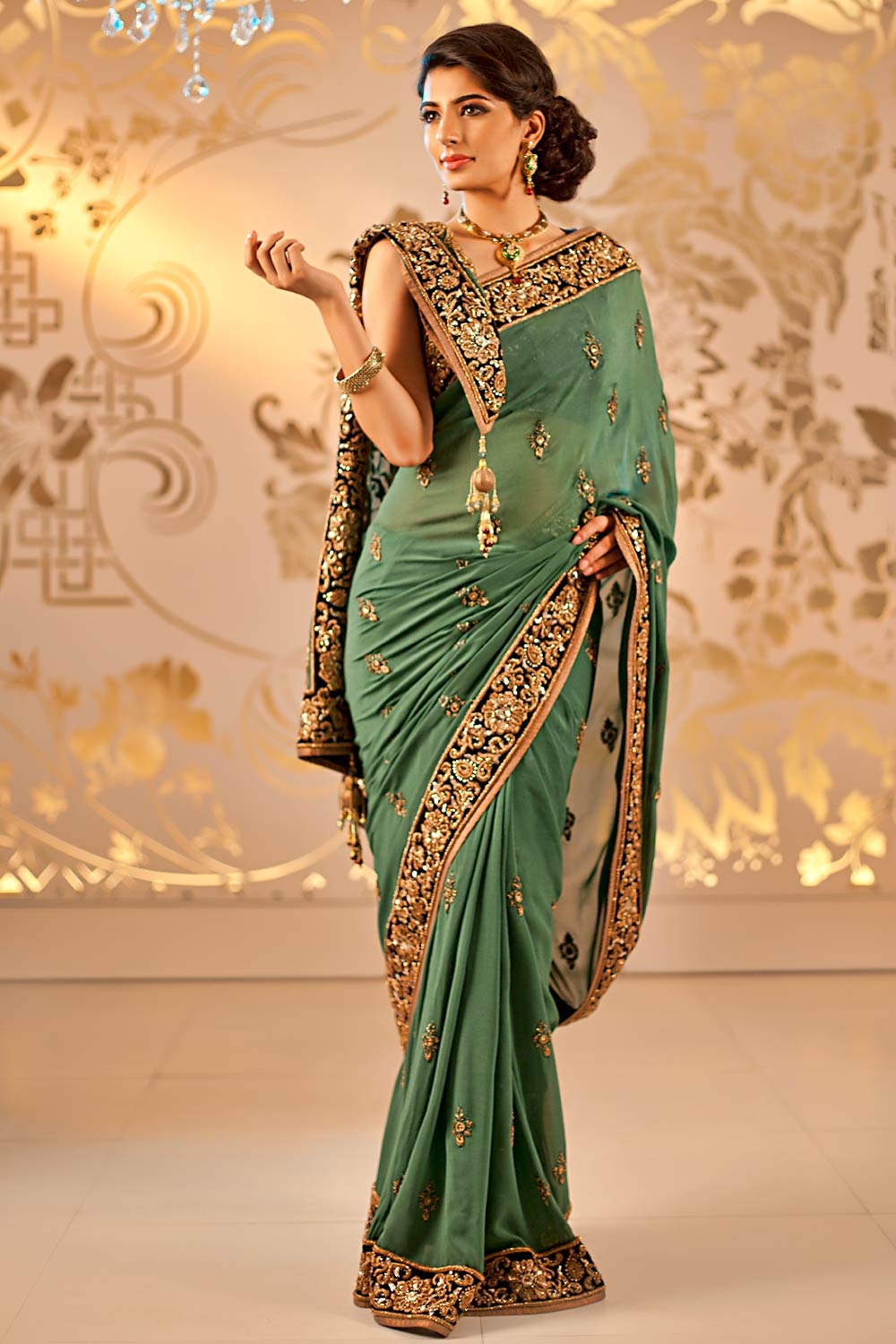 Bridal Sarees | Indian Bridal Sarees