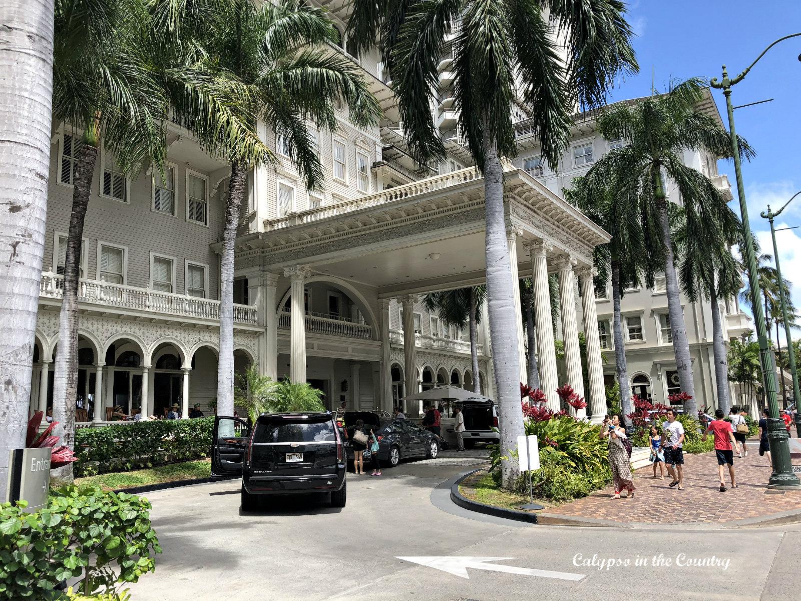 Moana Surfrider Westin Hotel in Waikiki