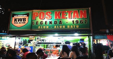 Pos Ketan Legenda 1967 Malang