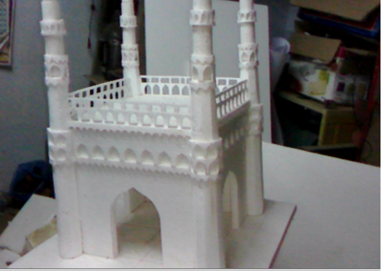 Learn New Things: Homemade Model of Charminar, Hyderabad