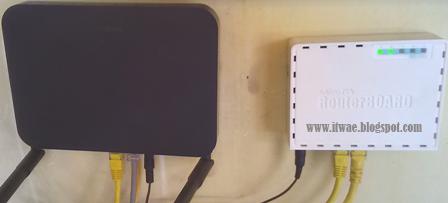 Cara Setting MikroTik RB750r2 Dengan Modem IndiHome Speedy - IT Wae