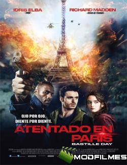 Capa do Filme Atentado em Paris