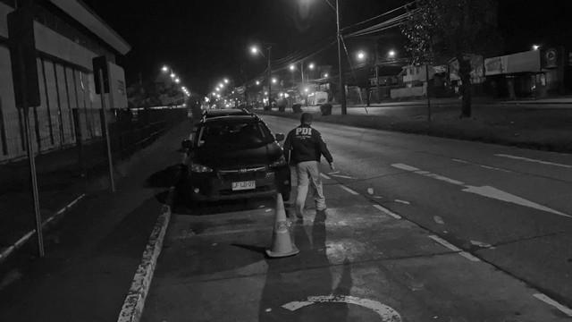 🚨PDI investiga disparo de Carabinero que dejó herido a conductor