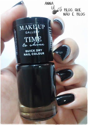 Midnight Black Make Up Gallery Esmalte Nailpolish