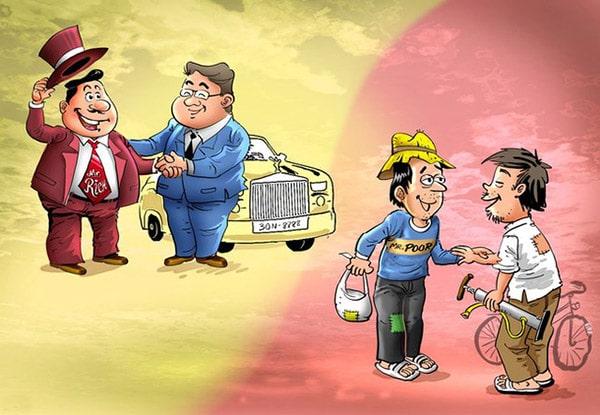 Отличие бедного человека от богатого 1