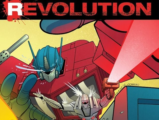 Revolution #1 Now Available Online And Local Comic Retailers