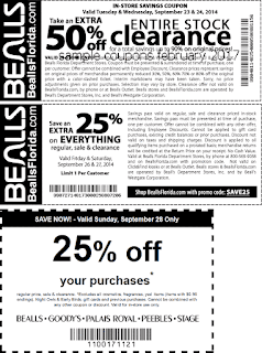 free Bealls coupons february 2017