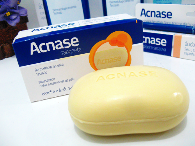 Sabonete Acnase - Ácido Salicílico + Enxofre