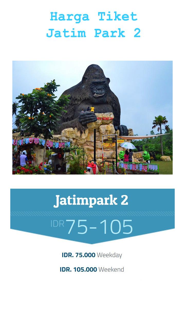Harga Tiket Masuk Jawa Timur Park 2 Terbaru 2017