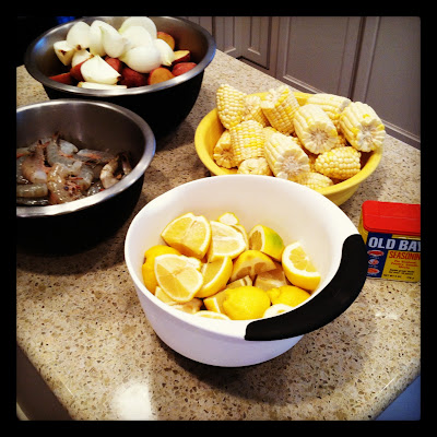 Lowcountry Shrimp Boil or Frogmore Stew Recipe.  Perfect for big groups | The Lowcountry Lady