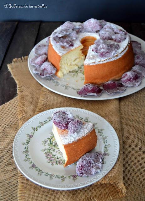 Angel Food Cake ©Saboreando las estrellas