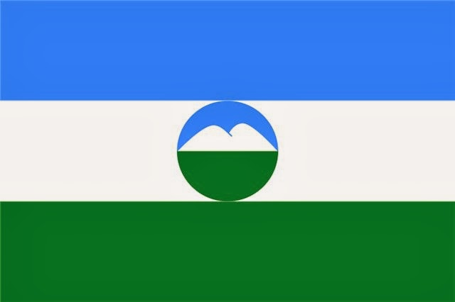 Флаг Балкарии